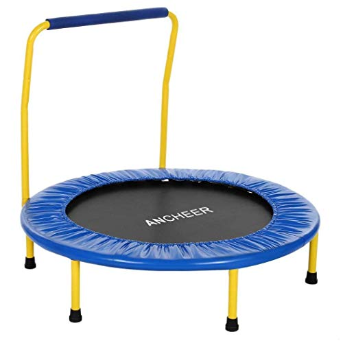 Trampoline Verstelbare Leuning Binnen/Buiten Jump Sport Veiligheid en duurzaam Toddler Trampoline trampoline en overdekking,dljyy