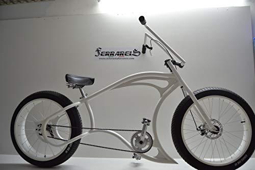 Cicli Ferrareis Cruiser Chopper Fat Bike 24 1V Custom Bike Personalizzabile