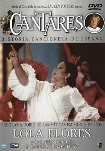 Cantares: Lola Flores + Carmen Flores + E. Montoya [DVD]