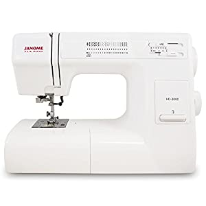 SYS Score: 9.0 Janome HD3000 Heavy-Duty Sewing Machine with 18 Built-In Stitches + Hard Case