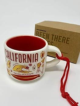 Starbucks California Been There Collection Ceramic Coffee Mug Demitasse Ornament 2 oz