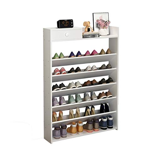Gabinete organizador de almacenamiento de zapatero Rack de zapatos simple de múltiples capas Rack de almacenamiento de pasillo de dormitorio de gabinete de zapatos económico Zapata de estante de pasil