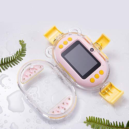 Cheapest Price! Alician Children Camera Mini DSLR Digital Camera Smile Shutter Waterproof Optical An...