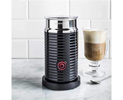 Nespresso Aeroccino 3 Emulsioneur de lait Noir (Import...