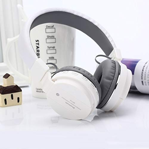 CHG SH12 Bluetooth Headphone Stretchable/Foldable Wireless Stereo Over Ear Headphone with Music & Calling Control FM and SD Card Slot for All Smartphones ZQ1