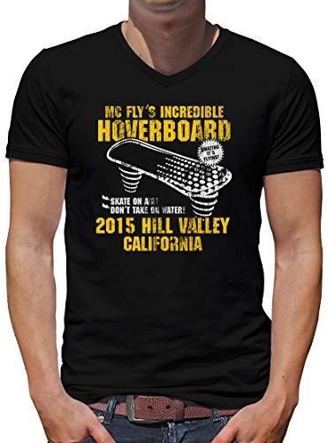 TShirt-People Hoverboard California - Maglietta da uomo Nero XL