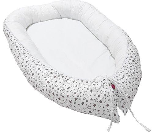 Babymajawelt® Tour de lit/cocon pour bébé - 90 x 55 cm - STERNTALER étoiles