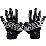 Battle Sports Doom 1.0 Football Receiver Gloves for Youth