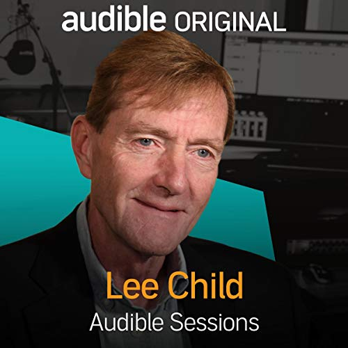 Lee Child audiobook cover art