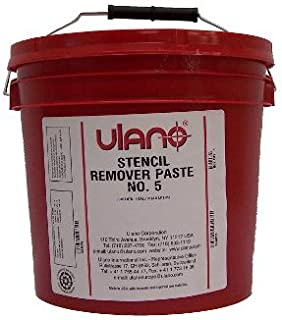 Ulano 5 Emulsion and Stencil Remover Paste for Screen Printing / Reclaim