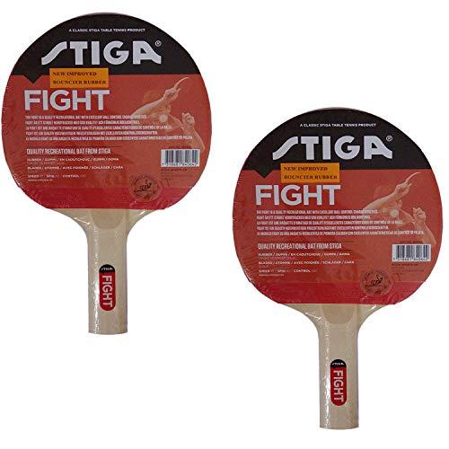 Stiga Wooden Table Tennis Racket/Bat (Multicolour)