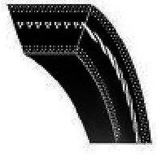 Sourcingmap 124L 33T 20mm Width 9.525mm Pitch Rubber Timing Belt Black for Stepper Motor