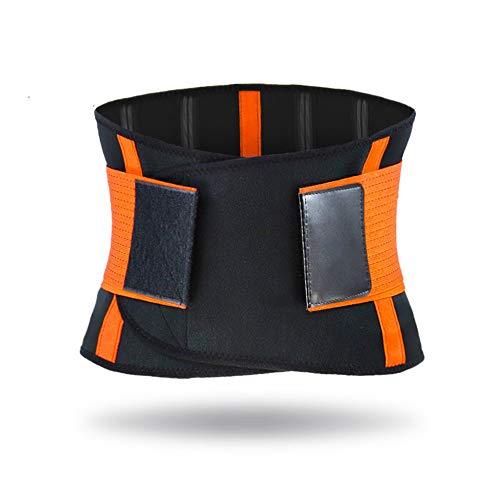 ILYO Cinturones deportivos, transpirables, presurizados, deportivos, cintura, abrigados, envolventes, gimnasia, baloncesto, pesas, cuatro barras de apoyo, M