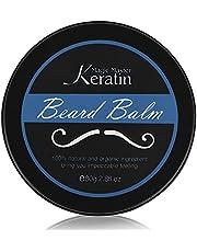 Beard Styling Wax for Men Magic Master Keratin Mustache Cream 80g