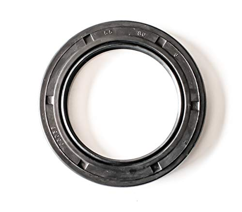 EAI Oil Seal 55mm X 80mm X 8mm TC Double Lip w/Spring. Metal Case w/Nitrile Rubber Coating