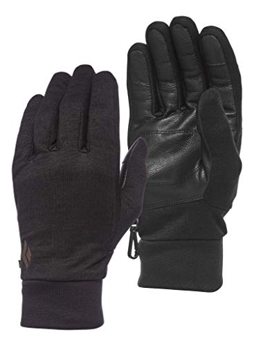 Black Diamond Heavyweight WOOLTECH Gloves Gants Mixte Adulte, Anthracite, FR : L (Taille Fabricant : Large)