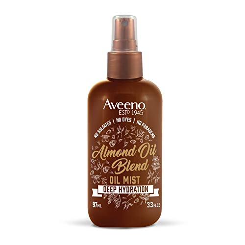 Aveeno Intense Hydration Almond Oil Hair Mist, 3.3 Ounce (67307)