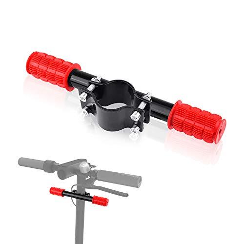 Enfants Barre de Poignée, Réglable Guidon de Trottinette électrique, Alliage d'aluminium Accessoires de Scooter pour Xiaomi M365/pro (Rouge)