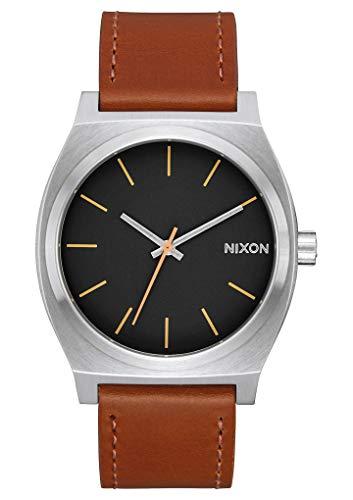 Nixon Orologio Analogico Quarzo Unisex con Cinturino in Pelle A045-2455-00