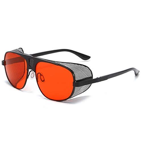 Punk Trend Sonnenbrillen Fashion Thick Edge Sonnenbrillen Persönlichkeit Retro Herren Sonnenbrillen, H, M.
