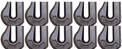 Buy Bargain BA Products 11-58WGH-x10, Set of 10 Grade 70 Weldable Grab Hook for 5/8 Chain, Tow, Rig...