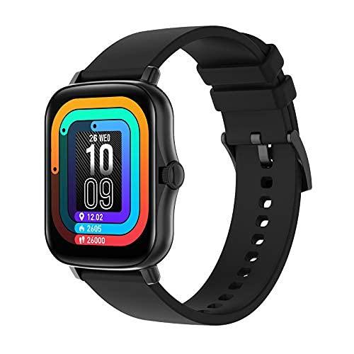 2021 Nuevo reloj inteligente para teléfonos IOS de Android Compatible iPhone Samsung, 1.7 'Pantalla grande, reloj digital deportivo ...