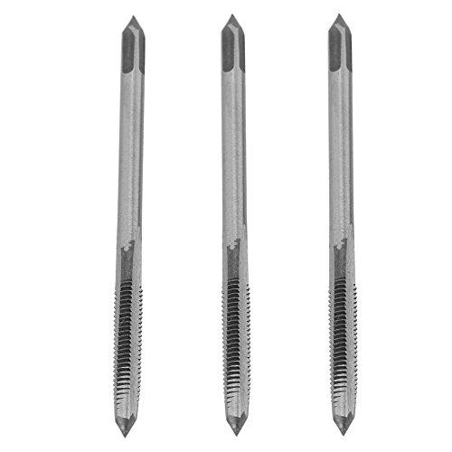3 Piezas de Alta Velocidad M3 / M4 / M5 rodamiento de Acero en Espiral Rosca de Mano Rosca de Rosca Herramienta Broca de máquina Rosca métrica Macho