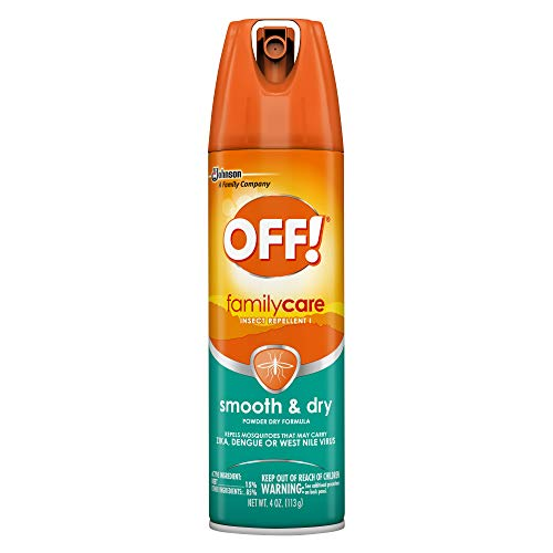 OFF! FamilyCare Insect Repellent I Smooth & Dry 4 Ounce (1 Count)