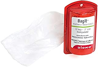 Diono Bag-It Refillable Bag Dispenser, Red