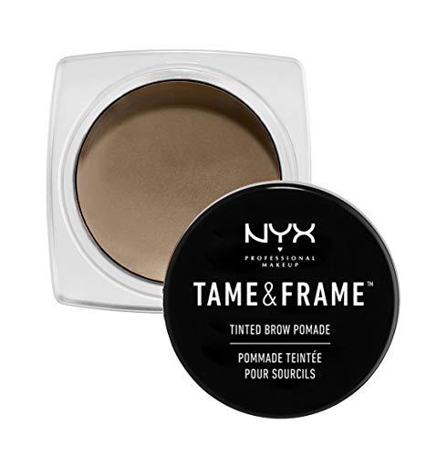 NYX Professional Make Up K4187001 Tame & Frame Tinted Brow Pomade Gel Sopracciglia, Blonde