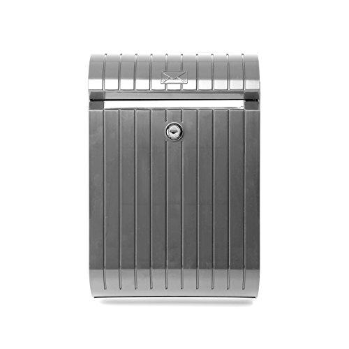 Tatay 0044009 - Briefkasten, grau-metallisiert