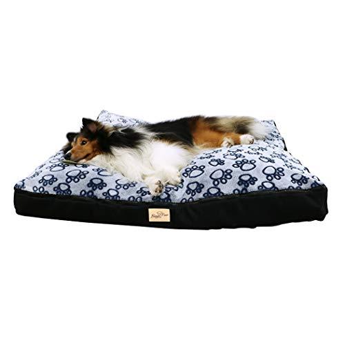 BingoPaw Hundebett Hundekissen Polster Wasserfest rutschfest Waschbar Kissen Hundematte Katzenmatte Haustier Bett für Hunde Katzen, L XL XXL XXXL