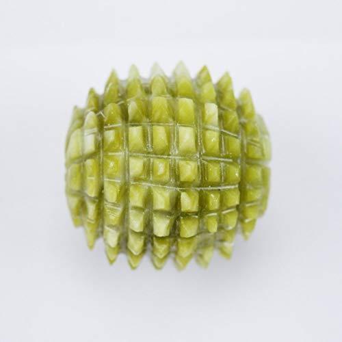 HXLF Handmassageball Reha-Trainingsgerät 2 Stück Natürliche Jade