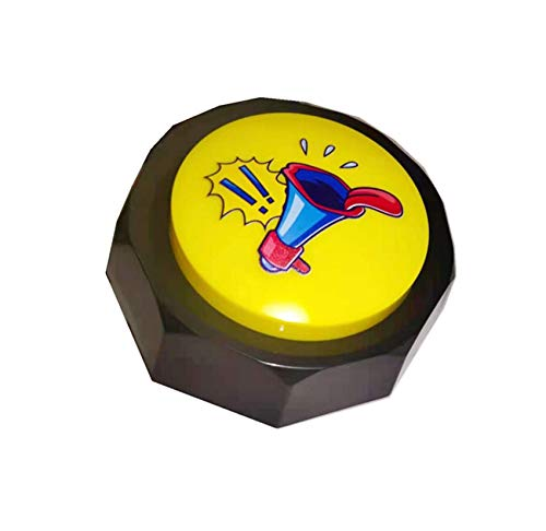 BOSKEY-Horn Button - Airhorn Sound Effect Button, Hip-Hop Rap Talking Button DJ Horn Sound Effect - Funny Gag Gifts(Battery Included)