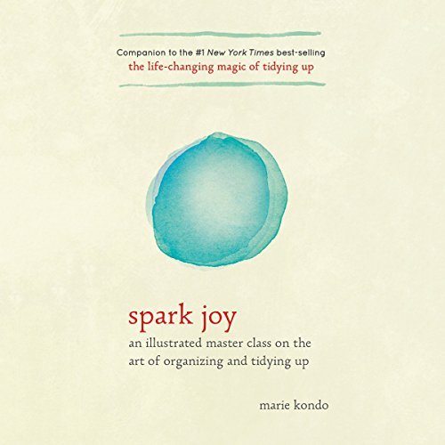 Spark Joy audiobook cover art