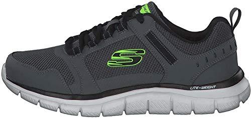 Skechers Track knockhill - Zapatillas deportivas para hombre Negro Size: 43 EU Larga