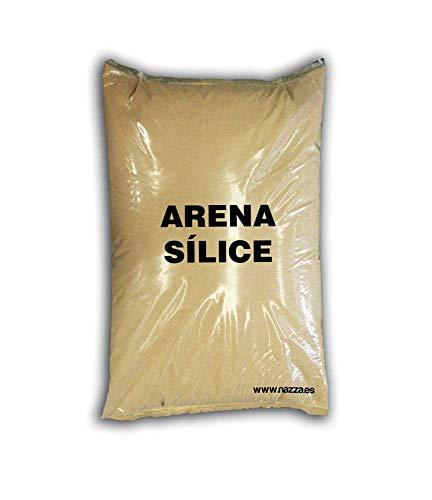 Arena de Sílice, 25 Kg, Grano Fino