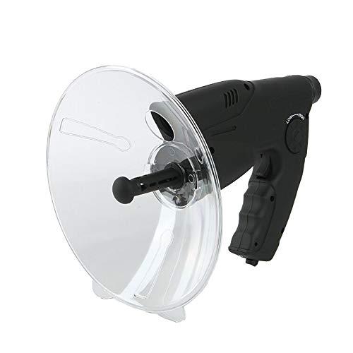 KKDWJ Microfono Parabolico, Monoculare X8 Ingrandimento dell'orecchio bionico Amplificatore Audio monoculare, Orecchio bionico Telescopio d'ascolto di Uccelli a Lunga Distanza 200M, per Cuffie