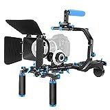 Neewer Kit de Película Cine Aluminio Sistema de Aparejo para Canon / Nikon / Pentax / Sony Y Otras DSLR Cámara s