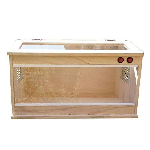 Xu-Pet Reptil Tank, aluminium kooi, Vivarium, opbergdoos voor horloges, cisterne, chameleon, schildpad, spin, transportbox voor katten, hondenhuis, 60 * 30 * 30CM