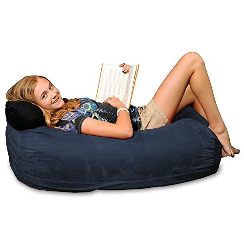 Chill Bag - Bean Bags Kid Beanbag Lounger, Navy by Chill Bag - Bean Bags