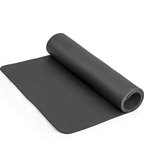 Alfombrilla protectora de suelo para entrenador de bicicleta de ejercicio resistente para gimnasio, yoga, cintas de correr, bancos, bicicletas, remos, zapatillas de cross ( Size : 160*70*0.5cm )