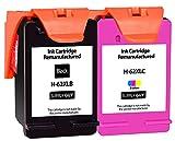SupplyGuy 2 XL Cartuchos Compatible con HP 62XL Multipack para Envy 5540 5544 5548 5640 5646 7640 Officejet 200 250 5740 5742 8040 Deskjet 5645