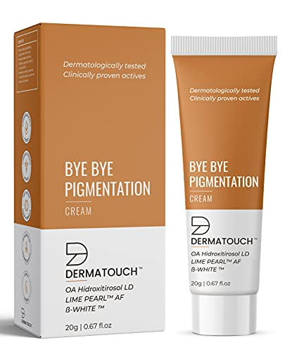 DERMATOUCH Bye Bye Pigmentation Cream for Pigmentation Removal Cream || Anti Pigmentation Cream for Women with Lime Pearl & B-White