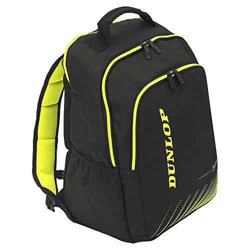 Dunlop SX Performance - Mochila de Tenis, Color Negro y Amarillo