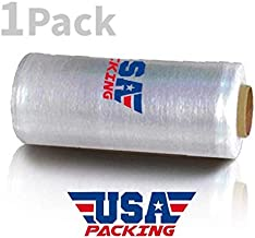 15 Inch x 1476 Feet Pre Stretch Plastic Wrap Film | Furniture Packing Moving | Pallet Wrapping - 2.75 Lbs per Roll. Made in USA with Virgin Material. Durable & Light Weight. Pre Stretch (1 ROLL)