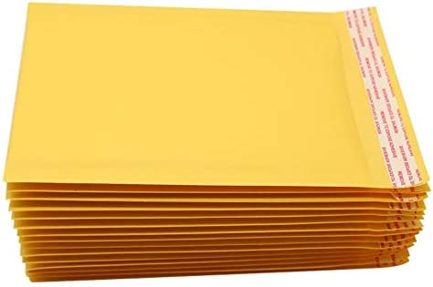 wholesale 50 Pack Kraft Padded envelopes 14.5 x 19 Bubble Mailers 14 1/2 x 19 Yellow Bubble envelopes Peal and 2021 Seal. wholesale Cushion envelopes for Shipping, mailing, Packing. Laminated Kraft Paper. Wholesale sale