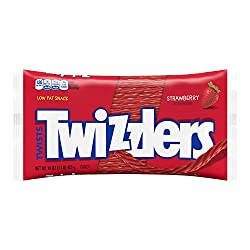 TWIZZLERS Licorice Candy, Strawberry, 16 Ounce