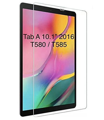BNBUKLTD Protector de Pantalla Cristal Templado Compatible para Samsung Galaxy Tab A 10.1' T580 T585 2016