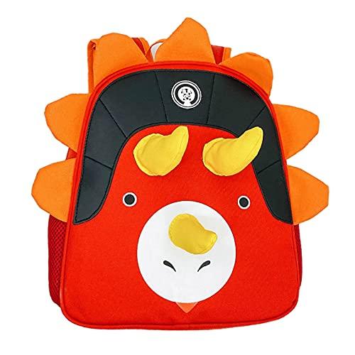 MPUOYHK Mochila escolar para niñas y niños, ligera y duradera mochila media (color: A, tamaño: 30 x 28 x 10 cm)